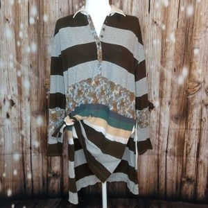 Free People/We the Free, Small Tunic, Striped